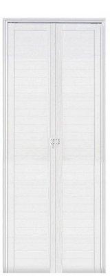 Porta Camarão em Alumínio Branco Lambril - Linha Premium Lux Esquadrias