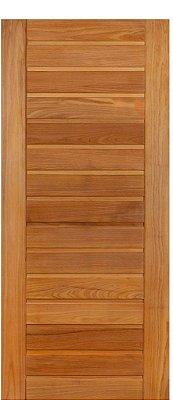 Folha de Porta de Abrir (Giro) em Madeira Tauarí Maciça AD 01 - Mapaf