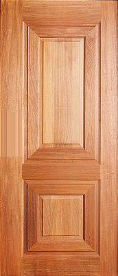 Folha de Porta de Abrir (Giro) em Madeira Tauarí Maciça Basalto - Mapaf