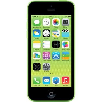 iPhone 5c 16GB Verde Desbloqueado Câmera 8MP 3G e Wi-Fi Apple