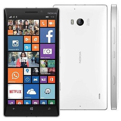 Nokia Lumia 930 32GB 4G Windows 8.1 Wi-Fi Câmera 20MP Branco