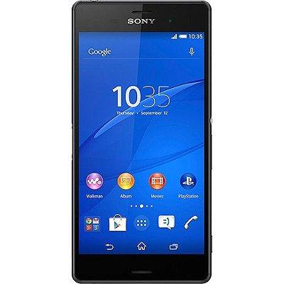 Smartphone Sony Xperia Z3 D6643 4G 16GB Preto  - PRODUTO REEMBALADO