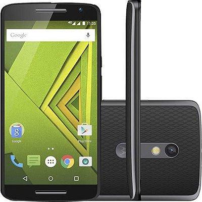 Motorola Moto X Play Xt1563 32gb 4g Dual Chip Original 21mpx Preto - PRODUTO REEMBALADO