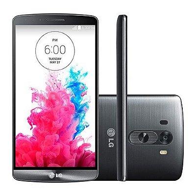 """LG G3 16GB 4G D855 Desbloqueado Vivo - Android 4.4 Câm. 13MP Tela 5.5"""" Proc. Quad-Core 2.5 GHz - PRODUTO REEMBALADO"""