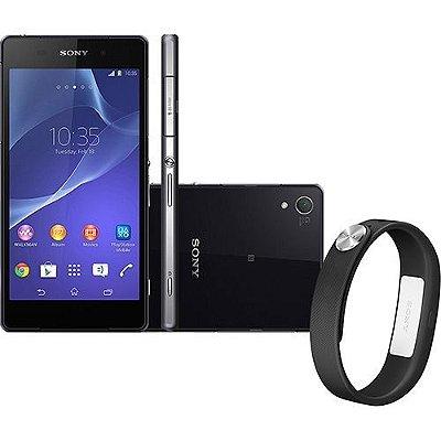 Sony Xperia Z2  Android 4.4 4G Câmera 20.7MP Memória 16GB GPS NFC TV Digital - PRODUTO REEMBALADO