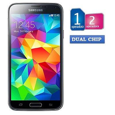 Samsung Galaxy S5 Duos SM-G900M Desbloqueado Android 4.4 4G 16MB Memória 16GB GPS NFC