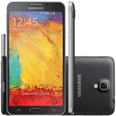"Samsung Galaxy Note 3 Neo Duos  Processador Quad Core 1.6 Ghz Tela Super Amoled HD 5.5"""