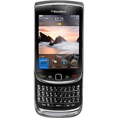 """Blackberry 9800 Desbloqueado OS Tela 3.2"""" 512MB 3G Wi-Fi Câmera 5.0MP"""