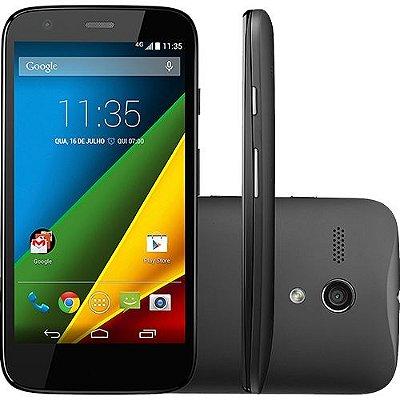 "Motorola Moto G Desbloqueado Android 4.4.3 Tela 4.5"" 8GB Câmera 5MP 4G"