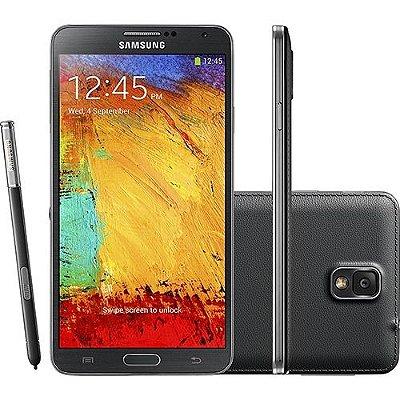 Samsung Galaxy Note 3 N9005 4G 32GB Quad Core 2.3 Ghz Câmera 13 MP - PRODUTO REEMBALADO