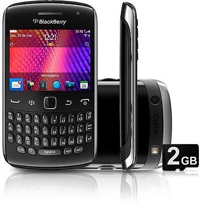 Blackberry Curve 9360 3g Gps Wifi Câmera 5mp Nacional Novo