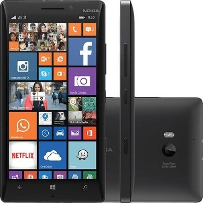 Nokia Lumia 930 32GB 4G Windows 8.1 Wi-Fi Câmera 20MP