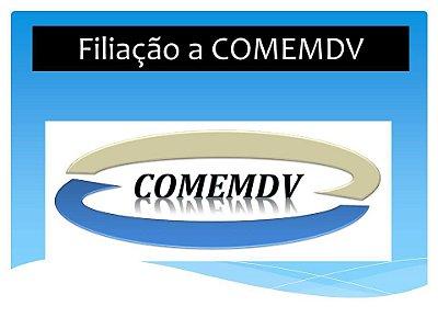 Pagamento de taxa de filiação à Convenção - Comemdv