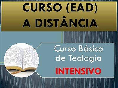 Curso Básico de Teologia (Intensivo) - Inscrição no curso com pagamento em parcela única.