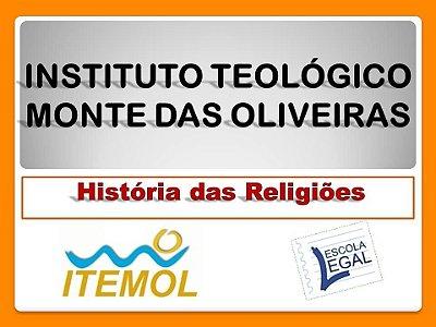 Curso de História das Religiões - Pagamento de inscrição