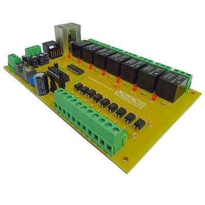 Clp Pic 16f628a, Programação Em Ladder, C Ou Assembly
