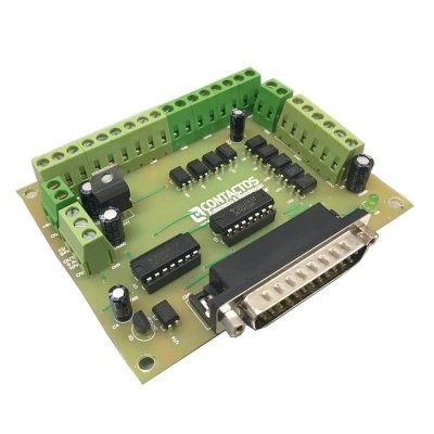 Placa Interface CNC 4 eixos