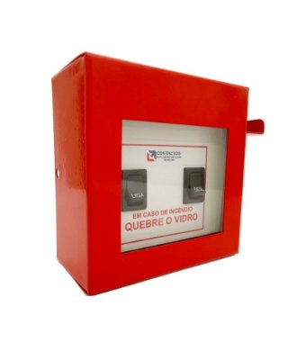 Botoeira Chave para Bomba Alarme de Incendio (Aço)