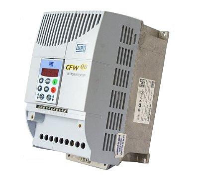 INVERSOR DE FREQUENCIA CFW080065T3848PSZ WEG