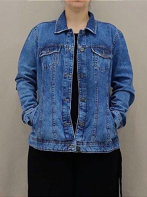 Jaqueta jeans basica