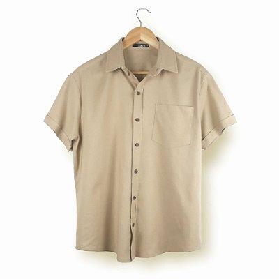 Camisa Linho Natural