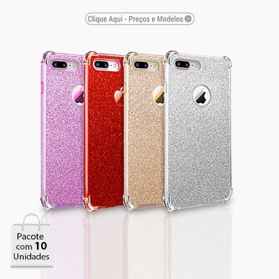 Capa 3x1 Glitter Anti Shock