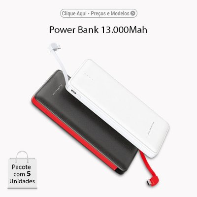 Power Bank ALPHAX 13.000Mah