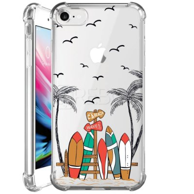 Capa Anti Shock Personalizada - SURF BEACH