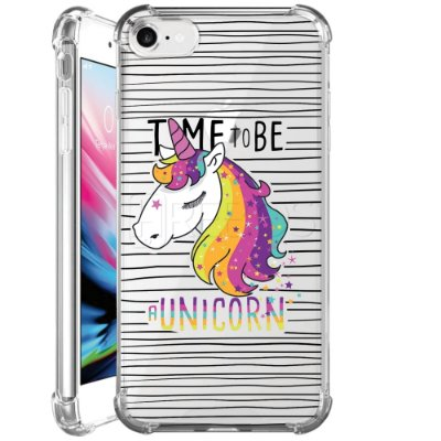 Capa Anti Shock Personalizada - TIME TO BE A UNICORN