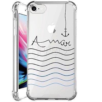 Capa Anti Shock Personalizada - AMAR OCEANO