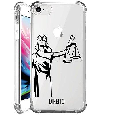 Capa Anti Shock Personalizada - JUSTIÇA DIREITO