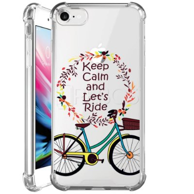 Capa Anti Shock Personalizada - KEEP CALM AND LET´S