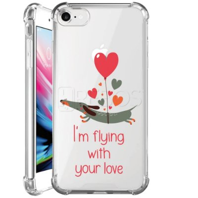 Capa Anti Shock Personalizada - I'M FLYING WITH YOUR