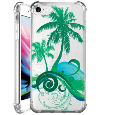 Capa Anti Shock Personalizada - TROPICAL BEACH