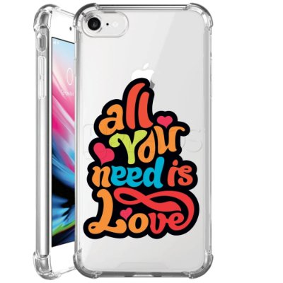 Capa Anti Shock Personalizada - ALL YOU NEED IS LOVE