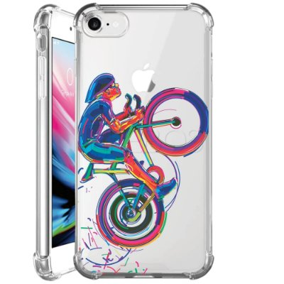 Capa Anti Shock Personalizada - CICLISTA COLOR