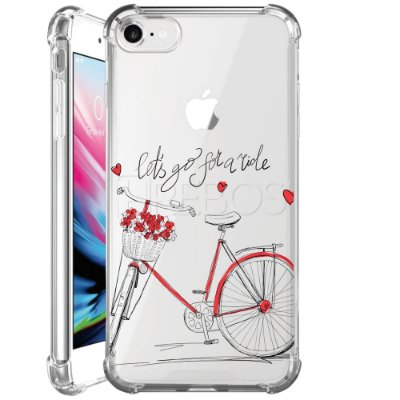 Capa Anti Shock Personalizada - LET'S GO FOR A RIDE