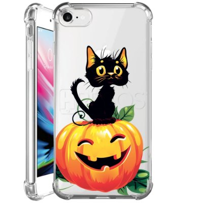 Capa Anti Shock Personalizada - CAT HALLOWEEN