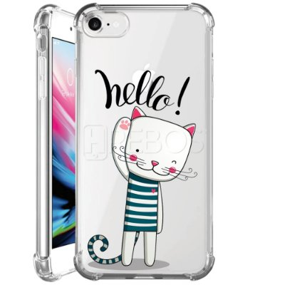 Capa Anti Shock Personalizada - HELLO CAT