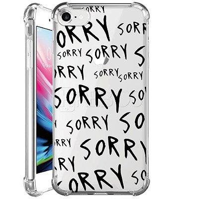 Capa Anti Shock Personalizada - SORRY SORRY SORRY