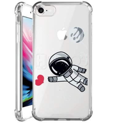 Capa Anti Shock Personalizada - ASTRONAUTA IN LOVE