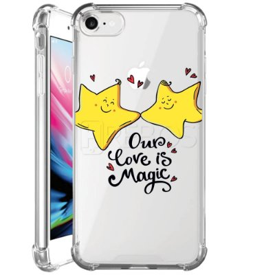 Capa Anti Shock Personalizada - OUR LOVE IS MAGIC
