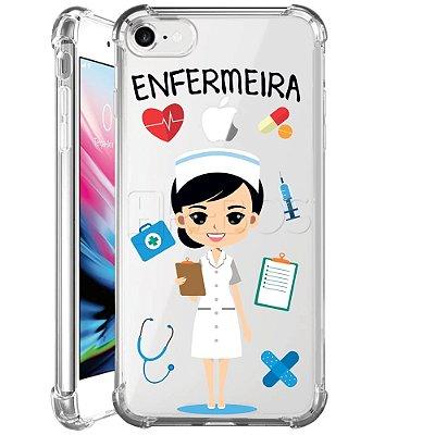 Capa Anti Shock Personalizada - ENFERMEIRA