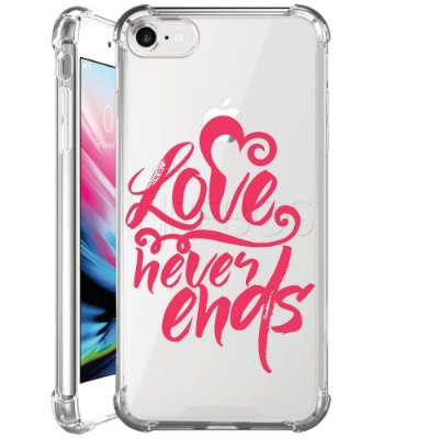 Capa Anti Shock Personalizada - LOVE NEVER ENDS