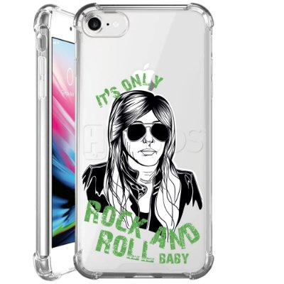 Capa Anti Shock Personalizada - ROCK N ROLL BABY
