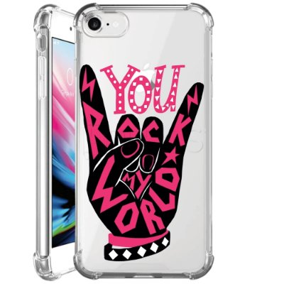 Capa Anti Shock Personalizada - ROCK MY WORLD