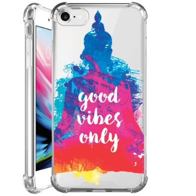 Capa Anti Shock Personalizada - FRASES GOOD VIBES