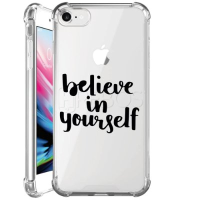 Capa Anti Shock Personalizada - BELIEVE IN YOURSELF