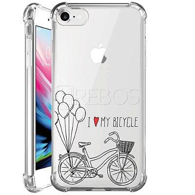 Capa Anti Shock Personalizada - I LOVE MY BICYCLE