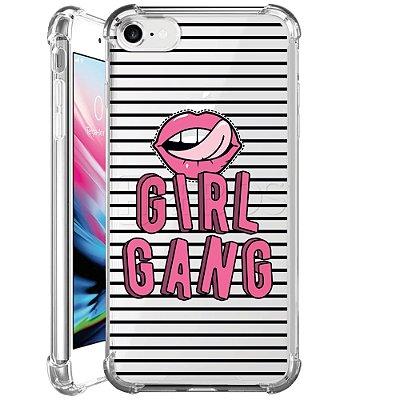 Capa Anti Shock Personalizada - GIRL GANG
